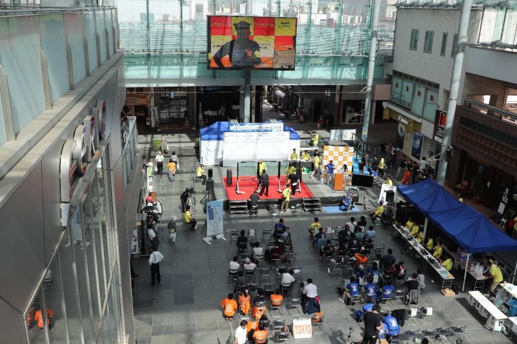 ガラスクリーニング選手権全国大会